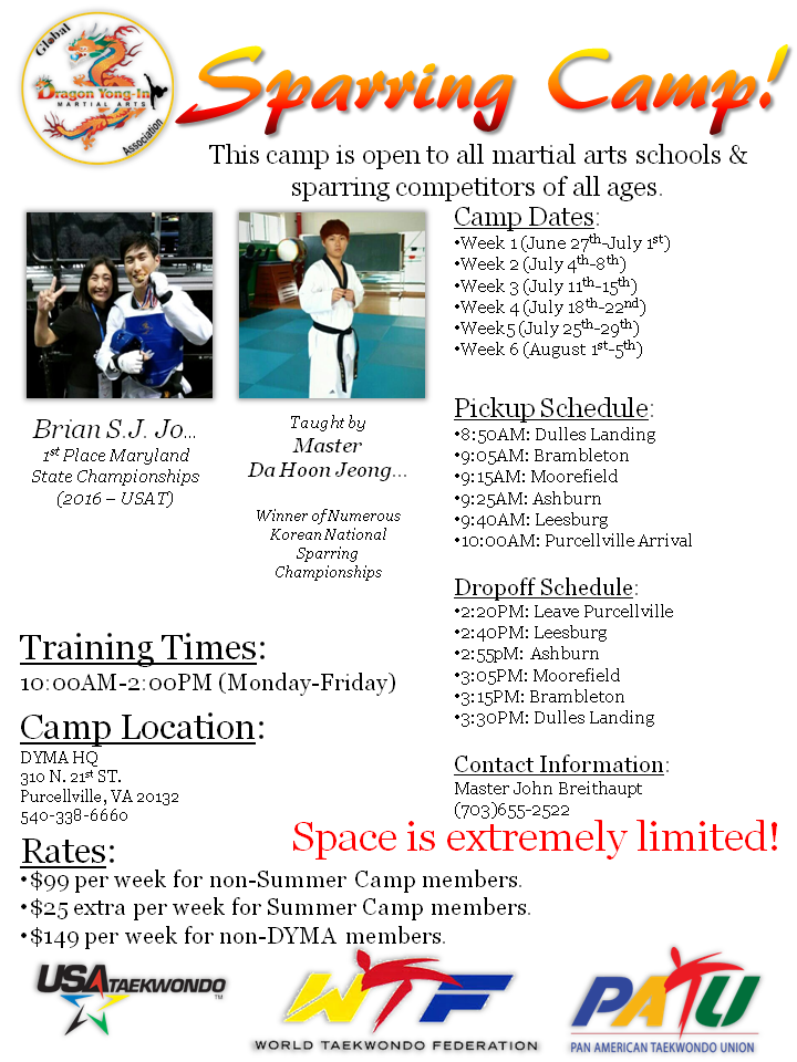 Sparring Camp Poster