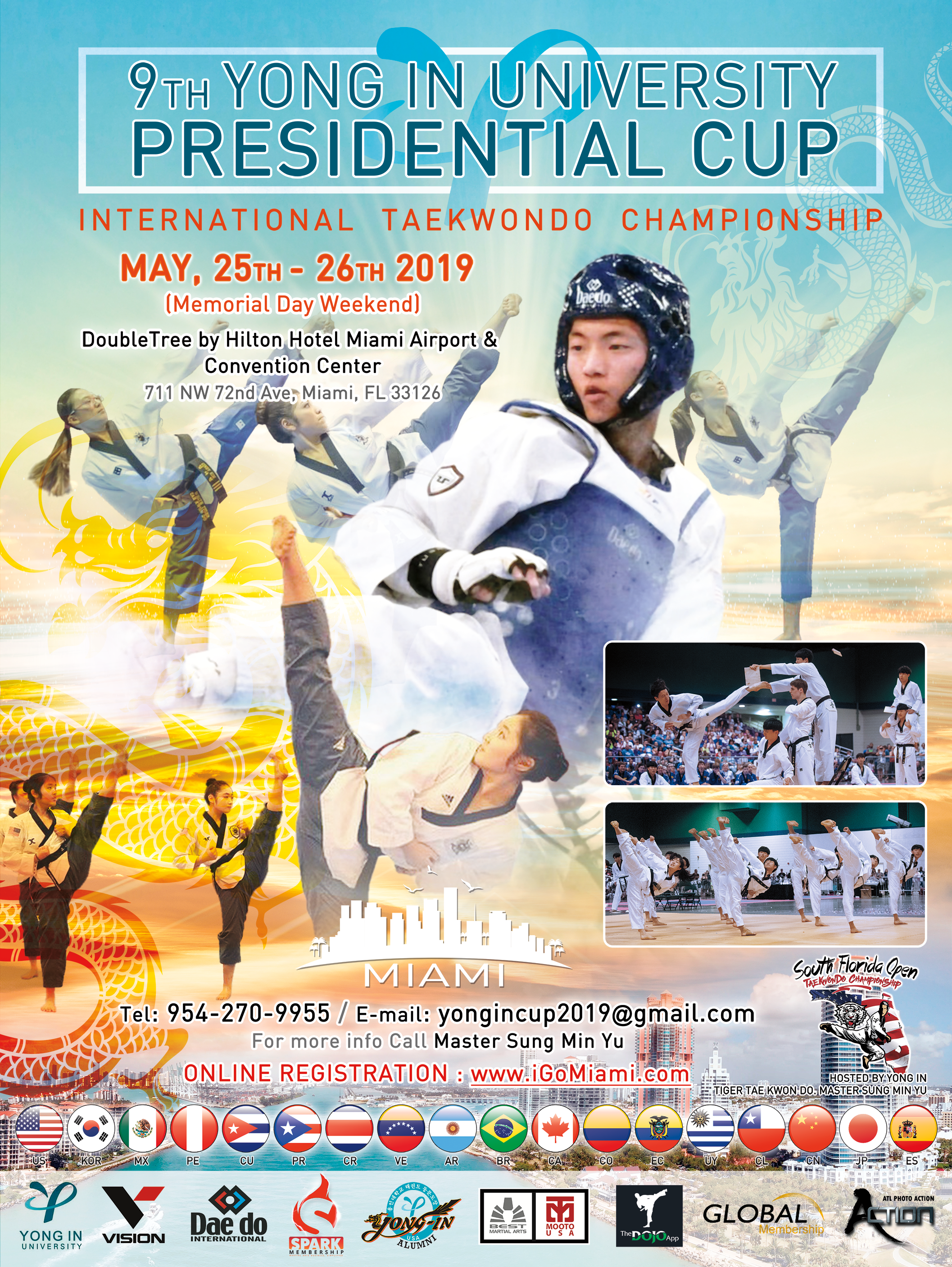 2019 Yong-In University Presidential Cup | Dragon Yong-in Martial Arts